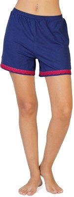 Coucou by Zivame Solid Women's Reversible Multicolor Boxer Shorts