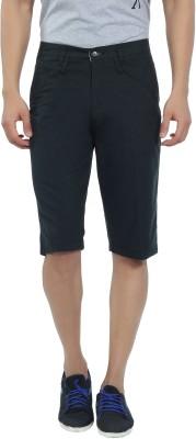 Live In Solid Men's Black Basic Shorts