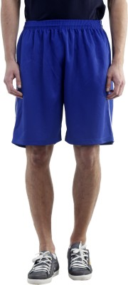 Meebaw Solid Men,s Blue, Blue, Blue, Blue Gym Shorts