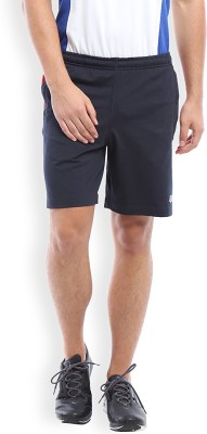 2go Solid Men's Blue, Red, White Sports Shorts