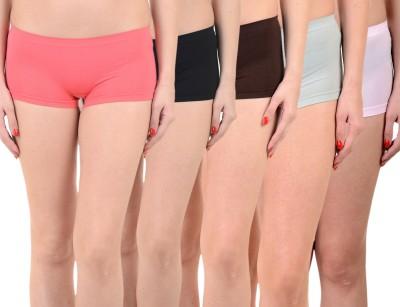 Mynte Solid Women's Red, Black, Brown, Blue, Pink Cycling Shorts, Gym Shorts, Swim Shorts