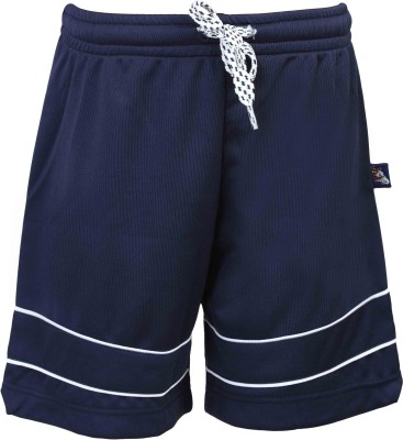 Urban Studio Solid Boy's Dark Blue Swim Shorts