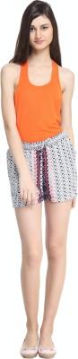 zurick Printed Women's Multicolor Basic Shorts