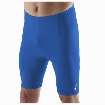Btwin Solid Men's Blue Cycling Shorts