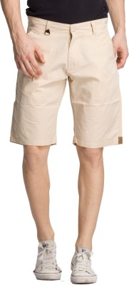 Bodymark Solid Men's Beige Night Shorts