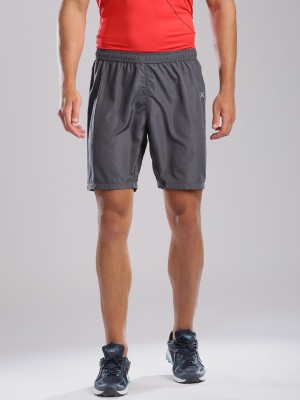 HRX by Hrithik Roshan Solid Men's Grey Sports Shorts