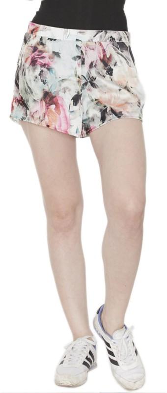 Divaat Floral Print Women's Multicolor Basic Shorts