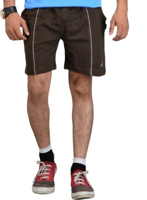 Vego Self Design Men,s Dark Green Sports Shorts
