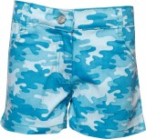 Joshua Tree Short For Girls Cotton (Blue...