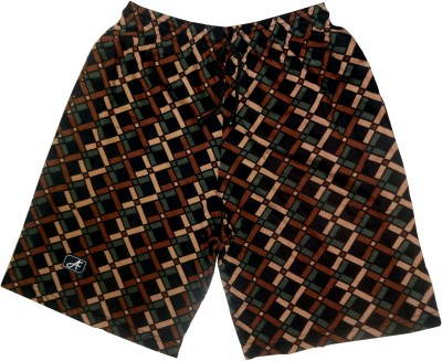 Afro Printed Men's Multicolor Bermuda Shorts