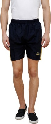 Grand Bear Self Design Men's Dark Blue Boxer Shorts