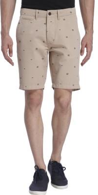Jack & Jones Polka Print Men's Beige Basic Shorts