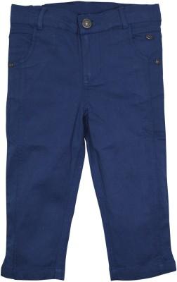 FS Mini Klub Printed Girl's Blue Basic Shorts