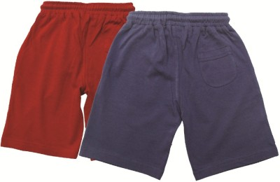 Jus Cubs Solid Boys Multicolor Sports Shorts