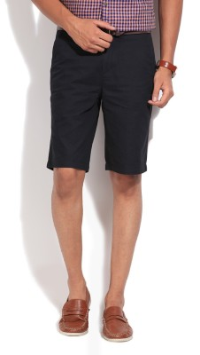 Jeanswest Australia Striped Men's Dark Blue Basic Shorts