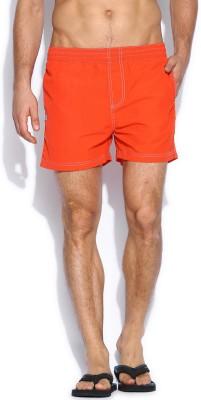 Russell Athletic Solid Men's Orange Swim Shorts