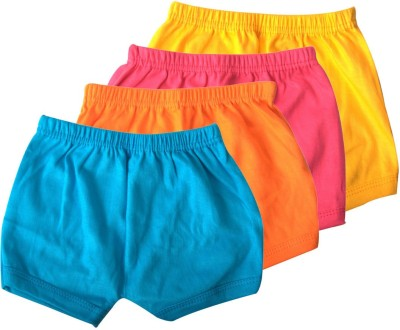 Rishan Solid Baby Boy's Multicolor Basic Shorts