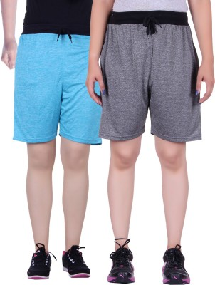Gag Wear Solid Women's Grey, Light Blue Swim Shorts