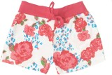 Tomato Short For Girls Floral Print Cott...
