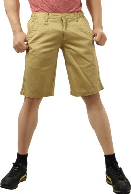 Private Image Printed Men's Black Basic Shorts, Chino Shorts