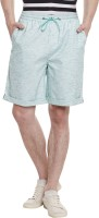 Yepme Men's Wear - Yepme Solid Men's Green Basic Shorts