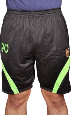 Leedo Solid Men's Black, Green Boxer Shorts