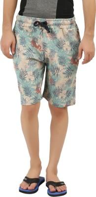 DESPERADO Printed Men's Beige Basic Shorts