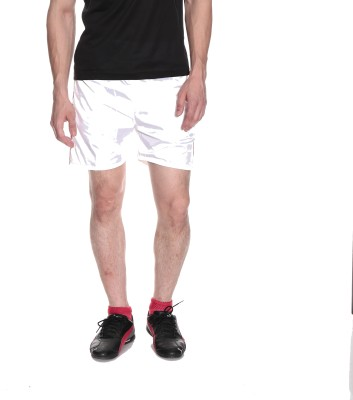 Fizzaro Solid Men's Reversible White Boxer Shorts