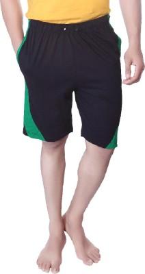 LUCfashion Solid Men's Blue, Green Basic Shorts
