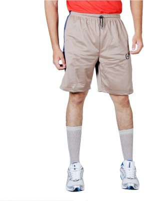 Force Solid Men's Brown Basic Shorts
