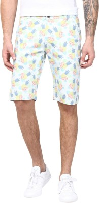 CODE 61 Floral Print Men's Multicolor Beach Shorts