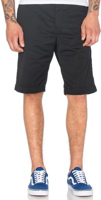 Cool Gene Solid Men's Grey Night Shorts