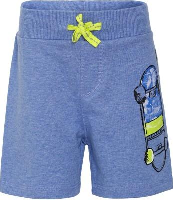 FS Mini Klub Striped Boy's Blue Basic Shorts