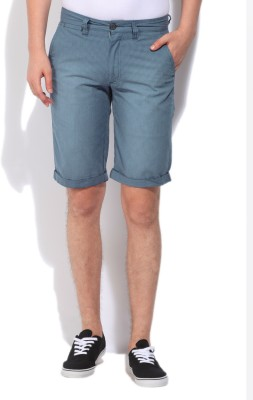 Jeanswest Australia Checkered Men's Blue Basic Shorts