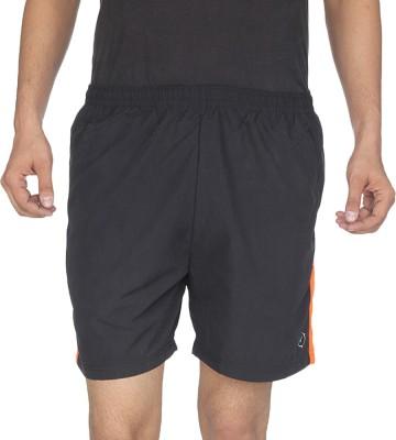 Being Responsible Self Design Men's Black Gym Shorts