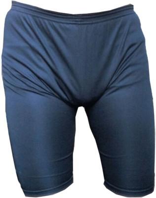 Hydra Solid Mens Blue Swim Shorts