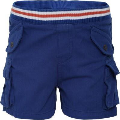 FS Mini Klub Woven Boy's Dark Blue Basic Shorts