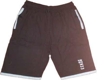 T2F Solid Men's Multicolor Boxer Shorts, Gym Shorts, Night Shorts