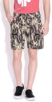Cub Printed Men's Multicolor Basic Shorts
