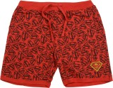 Superman Short For Boys Printed Cotton L...
