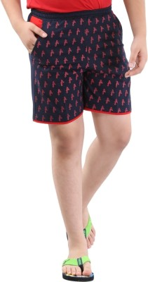 Fizzi Short For Boys(Blue, 5 - 6 Years, Pack of 1)