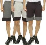 Hardys Solid Men's Multicolor Sports Sho...