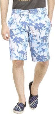 Dolce Hugo Solid Men's White Basic Shorts, Beach Shorts