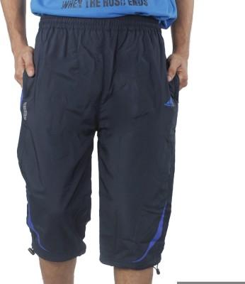 Hannspree Solid Men's Blue, Blue Basic Shorts