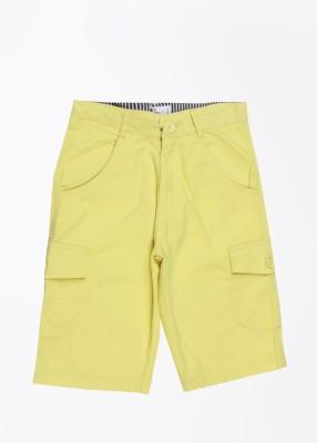 612 League Boy's Yellow Basic Shorts