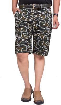 British Terminal Self Design Men,s Multicolor Bermuda Shorts
