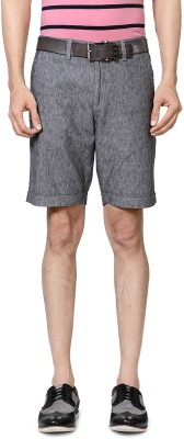 Allen Solly Solid Men's Grey Basic Shorts