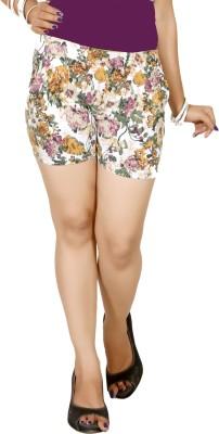 Vostro Moda Printed Women's Multicolor Basic Shorts
