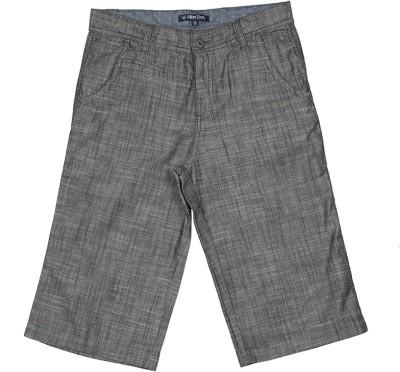 Allen Solly Solid Boy's Grey Basic Shorts
