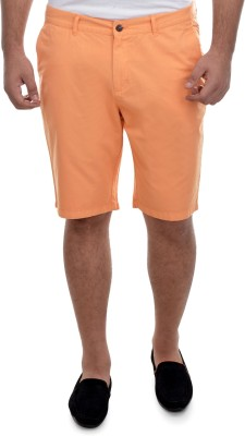 nuluk Solid Men's Multicolor Chino Shorts